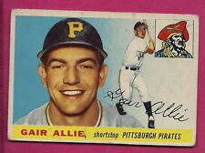 1955 TOPPS # 59 PIRATES GAIR ALLIE VG CARD (INV# A3678)