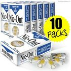 Nic-Out Disposable Cigarette Filters 10 Packs 300 filters  Free Shipping