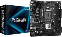 Motherboard ASRock H410M-HDV Intel Socket 1200 10th Gen Micro ATX HDMI/VGA