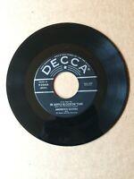 ANDREW SISTERS 45 RPM DECCA 9-23608 VG+ 1950 DECCA SLEEVE