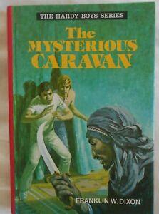 The Hardy Boys #11, The Mysterious Caravan by Franklin W Dixon hc 1977