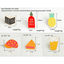 Ladies Pin Skirt Dress Brooch Christmas Party Book Cake Hat Cup  Pineapple Girls