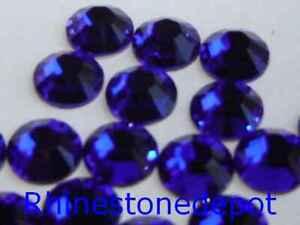 20ss COBALT BLUE Swarovski Rhinestones 144 pcs