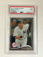 DEREK JETER 2014 Topps Chrome RUNNING #56! PSA MINT 9! YANKEES! CHECK MY ITEMS!