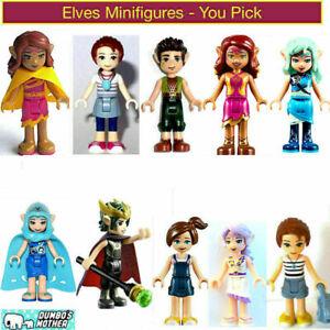 Lego Elves Minifigures Elf Emily Jones Aira Farren Azari Goblin King Sophie NEW