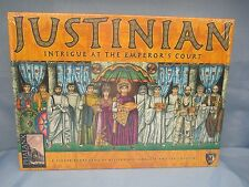 JUSTINIAN Intrigue At the Emperors Court BOARD GAME NIB