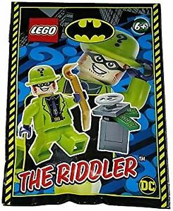 Blue Ocean LEGO Super Heroes The Riddler Minifigure Foil Pack Set 212009