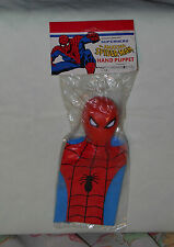 vintage Imperial Marvel Superhero THE AMAZING SPIDER-MAN HAND PUPPET MIP sealed