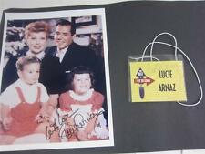 Lucie Arnaz Cy Coleman Tribute SEE VIDEO Tag + signed I Love Lucy Photo, Lucille