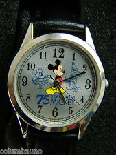 NEW 75 YEARS WITH MICKEY UNISEX WATCH IN TIN FREE SHIPPING IN USA