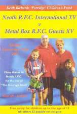 NEATH INTERNATIONAL XV v METAL BOX GUESTS XV 16 September 2001 SIGNED RUGBY PROG