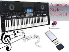 PSR S550 USB-Stick + volume 3 styles de chanson nouveau