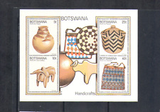 Botswana 1979 Artigianato/ARTE TRIBALE/Ceramica/cesto tessitura con perline/M/S n14591