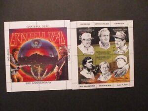 Algeria Souvenir Stamp Sheets Lot of 4 MNH OG Topic: Assortment Lot B