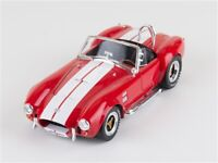 1965 Shelby Cobra 427 S/C Red Shelby Collectibles 1:18 Diecast
