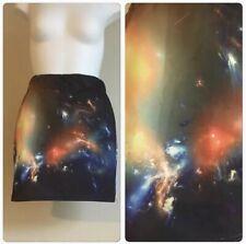Galaxy print mini skirt Xsmall/small
