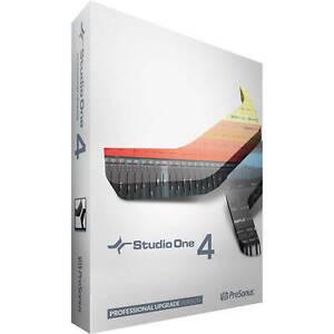 Presonus Studio One 4 Pro Upgrade from Artist/Producer Version 1/2/3 to Pro 4.0