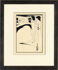 "Scarce 1907 Exhib-Sized Salome Folio PL I ""Woman in the Moon"" Aubrey Beardsley"