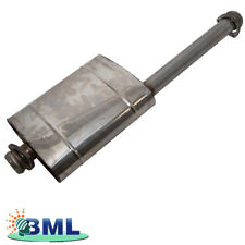 LAND ROVER DEFENDER 1983-2006 EXHAUST INTERMEDIATE PIPE AND SILENCER - NRC6433SS