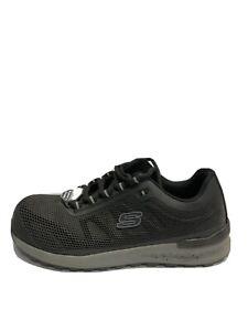 Skechers Bulklin Mens Sneaker Black 9.5 M
