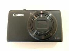 Canon PowerShot s95 10.0mp cámara digital-negro