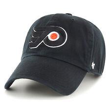 marque 47 NEUF pour hommes NHL PHILADELPHIA FLYERS Clean Up Casquette noire