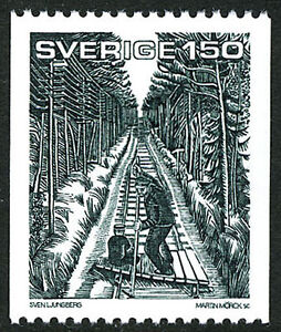 Sweden 1377, MNH.Scene from Par Lagerkvist's Autobiography Guest of Reality,1981