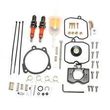 For Keihin CV Carb Rebuild Kit 1990-Up Carburetor Harley Davidson XL 883 1200