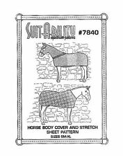 HORSE BLANKET SUITABILITY SET OF HORSE RUG COMBO SEWING PATTERNS 7840