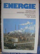 11019 Energie Grundlage unserer Wirtschaft Perspektive für jeden Heft DDR