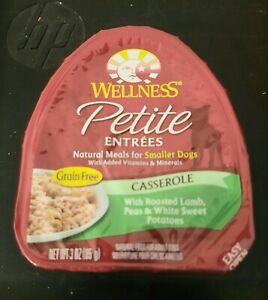 Wellness Petite Entree's Grain Free Natural Wet Small Breed Dog Food, 3-Oz