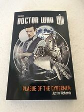 Doctor Who Plague of the Cybermen by Justin Richards 2013 Paperback BBC Eleven