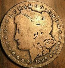 1889 USA MORGAN SILVER DOLLAR COIN