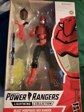 Power Rangers Lightning Collection Beast Morphers Red Ranger Brand New