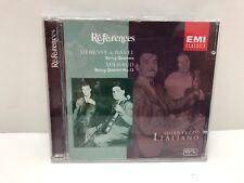 Debussy, Ravel, Milhaud: String Quartets CD EMI References Quartetto Italiano