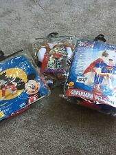 3 Dog Costumes Rubie's Superman Dog Cowboy And Mickey Mouse - Small New