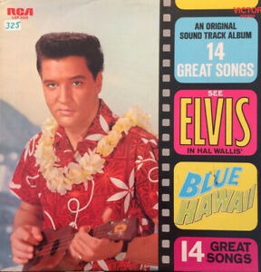 "2nd Vinyl - 12"" Album – Elvis Presley – Blue Hawaii - Orange - Misprint - RARE"