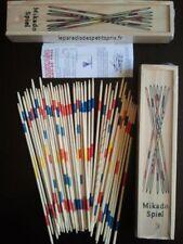 Mikado, coffret en bois de 41 MIKADO, boite de mikado avec les regles