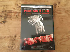 Como nuevo DVD película PROMESAS DEL ESTE - Item For Collectors