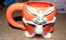 RARE Bugs Bunny and Gossimer 3D character mug figure warner bros cup pottery