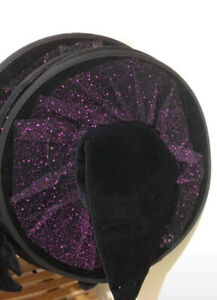 Glitter Witch Hat - Purple