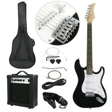 "39""Size Electric Guitar For Starter Beginner with 10W AMP GigBag Case Strap New"