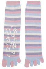 Women's Striped Toe Socks