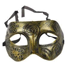 Mens Adult Masquerade Greek Roman Facial Mask For Fancy Dress Masked Ball L C9R8