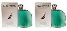 2 X Nautica Classic Men 3.4 OZ 100 ML Eau De Toilette Spray Nib Sealed