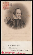 SG420 1934 Shakespeare vignette on cover Stratford upon Avon to USA.