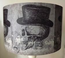 Skull Lampshade,light shade,Halloween ,Top Hat, Pipe, Gothic Free Gift