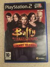 Buffy The Vampire Slayer Chaos Bleeds PS2/ Playstation 2 Game - Horror Angel TV