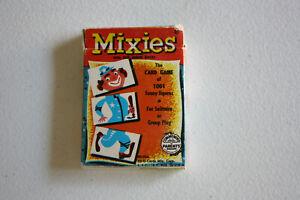 MIXIES - ED-U-CARDS - EDUCATIONAL CARD GAME - FLIP MOVIE BACKS