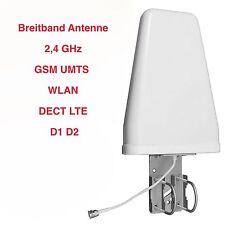 Richtantenne Breitband Antenne 2,4GHz GSM LTE UMTS WLAM WIFI Repeater Verstärker